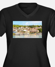 Beauty From Greece Plus Size T-Shirt