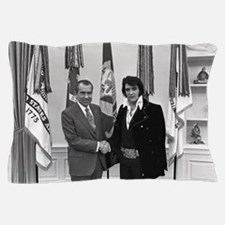 Elvis Meets Nixon Pillow Case