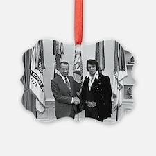 Elvis Meets Nixon Ornament