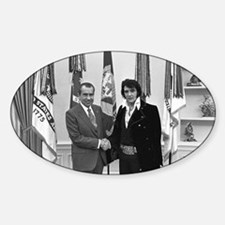 Elvis Meets Nixon Decal