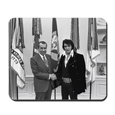 Elvis Meets Nixon Mousepad