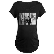 Elvis Meets Nixon Maternity T-Shirt