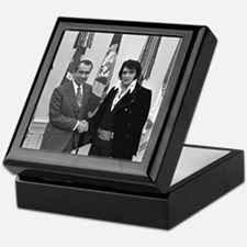 Elvis Meets Nixon Keepsake Box