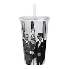 Elvis Meets Nixon Acrylic Double-wall Tumbler