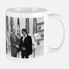 Elvis Meets Nixon Mugs