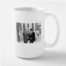 Elvis Meets Nixon Mugs