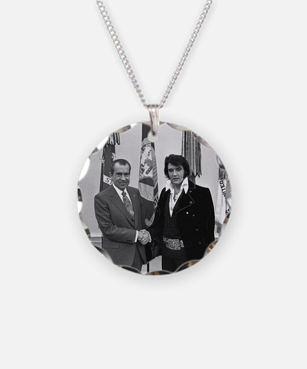 Elvis Meets Nixon Necklace