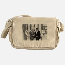 Elvis Meets Nixon Messenger Bag