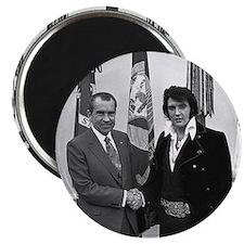 Elvis Meets Nixon Magnets