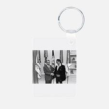 Elvis Meets Nixon Keychains