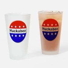 Vote Huckabee Drinking Glass