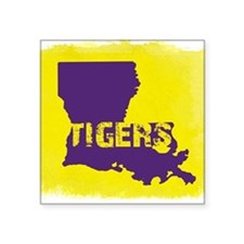 Louisiana Rustic Tigers Sticker