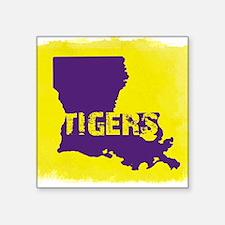 Louisiana Rustic Tigers Sticker