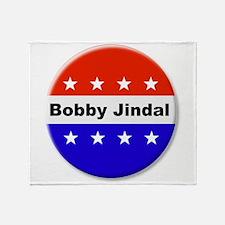 Vote Bobby Jindal Throw Blanket