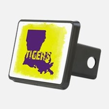 Louisiana Rustic Tigers Hitch Cover