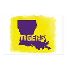 Louisiana Rustic Tigers Postcards (Package of 8)
