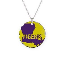Louisiana Rustic Tigers Necklace