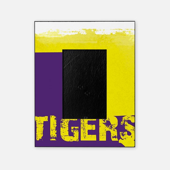 Louisiana Rustic Tigers Picture Frame