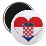 Heart of Croatia Magnet