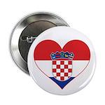 Heart of Croatia Button
