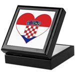 Heart of Croatia Keepsake Box