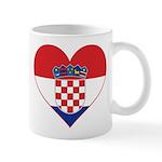 Heart of Croatia Mug
