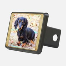 Puppy Love Doxie Hitch Cover