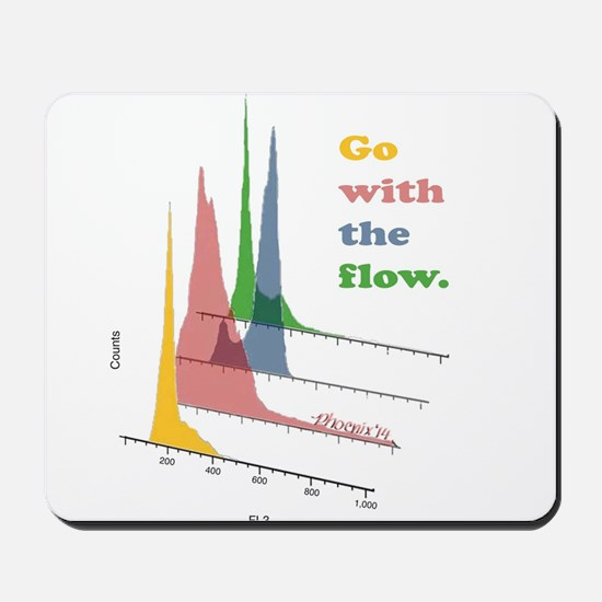 Go with the flow-cytometry Mousepad