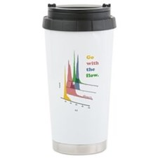 Go with the flow-cytometry Travel Mug