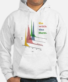 Go with the flow-cytometry Hoodie