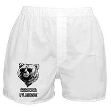 Grizza Please Boxer Shorts