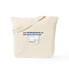 Fast Paste Tote Bag