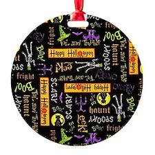 Happy Halloween III Ornament