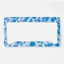 Dappled Water License Plate Holder