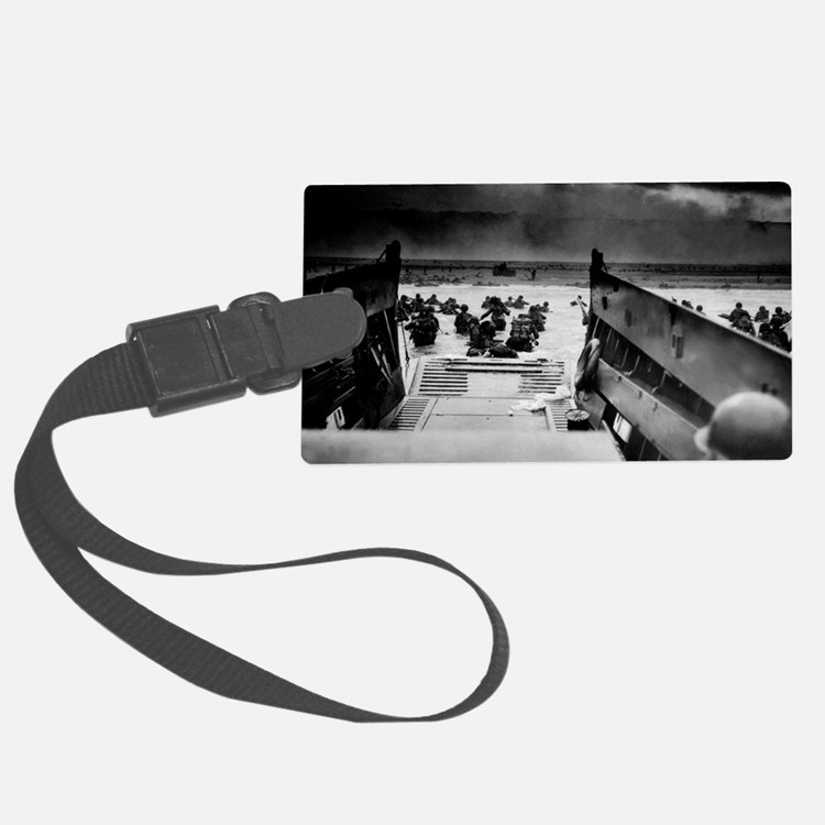 D-Day Landing Luggage Tag