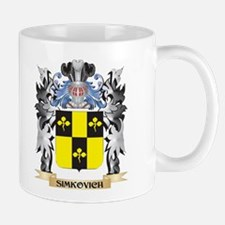 Simkovich Coat of Arms - Family Crest Mugs