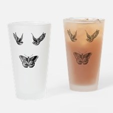 Harry Styles Tattoos Drinking Glass
