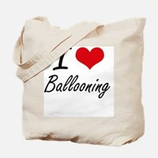I Love Ballooning artistic Design Tote Bag