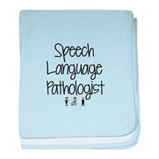 Cute Speech therapy baby blanket