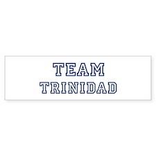 Team Trinidad Bumper Bumper Bumper Sticker