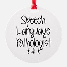 Unique Speech pathologist Ornament