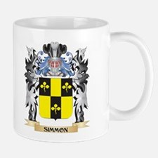 Simmon Coat of Arms - Family Crest Mugs