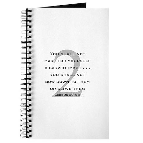 Commandment 2 - Journal