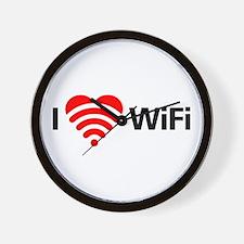 I Love Wifi Wall Clock