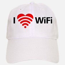 I Love Wifi Baseball Baseball Cap