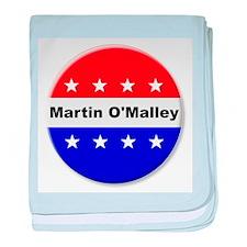 Vote Martin OMalley baby blanket