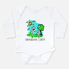 Cute Figure Long Sleeve Infant Bodysuit