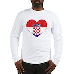 Heart of Croatia Long Sleeve T-Shirt