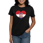 Heart of Croatia Women's Dark T-Shirt