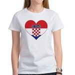 Heart of Croatia Women's T-Shirt
